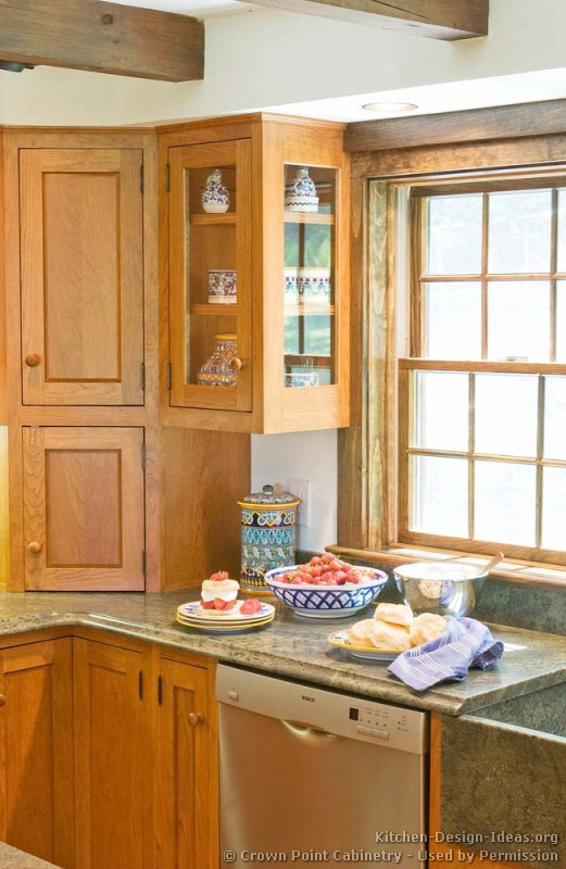 Shaker kitchen cabinets door styles designs and pictures for Kitchen corner design
