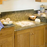 Staggered Height Countertops