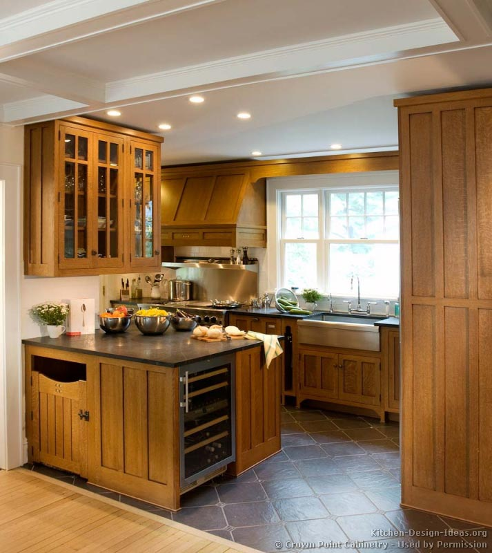 Mission Style Kitchen Design