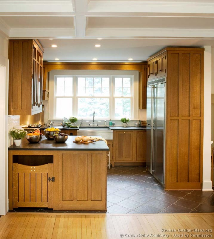 Craftsman Style Kitchen Cabinets Craftsman Kitchen Design Ideas And