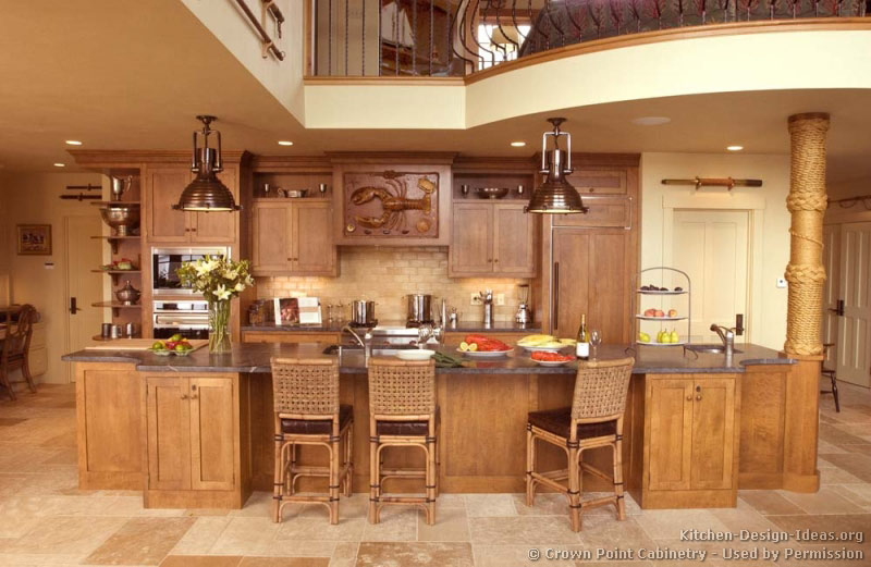 Unique kitchen cabinet ideas for Unique kitchen island shapes