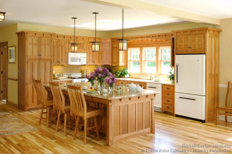 Mission style kitchens designs and photos Wood kitchen design gallery