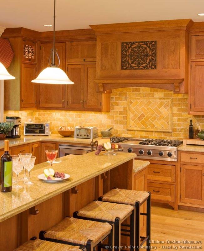 Kitchen Design Light Wood Cabinets: Light Wood Kitchen Cabinets (Kitchen #134