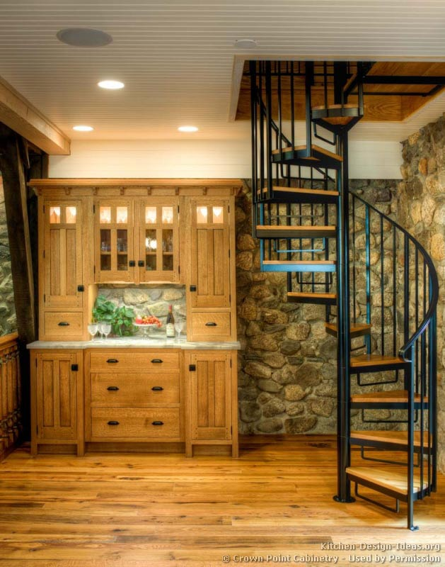 20, Log Home Kitchen