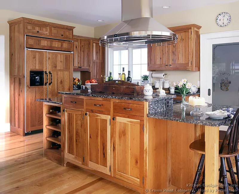 kitchen cabinets rustic wood