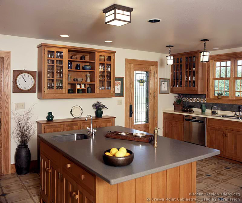 08 Arts And Crafts Style Kitchen
