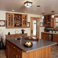 Arts and Crafts Style Kitchen