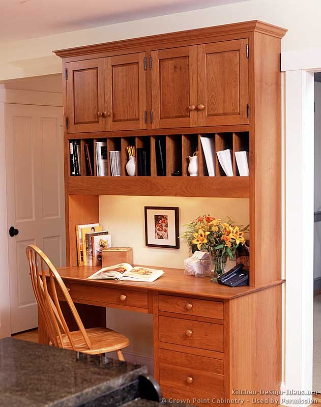 Kitchen Desk Cabinets Shaker Kitchen Cabinets Door Styles Designs And Pictures