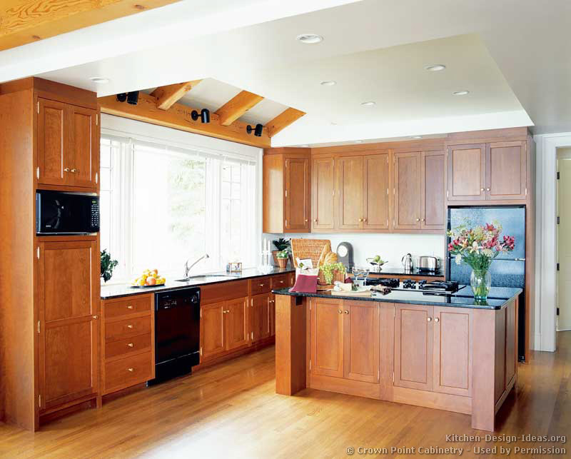 Kitchen Design Ideas Org Part - 47: ... Traditional Light Wood Kitchen