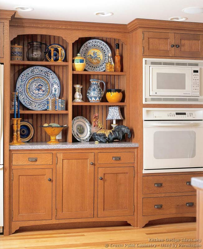 Light Oak Kitchen Cabinets: Victorian Kitchens Cabinets, Design Ideas, And Pictures