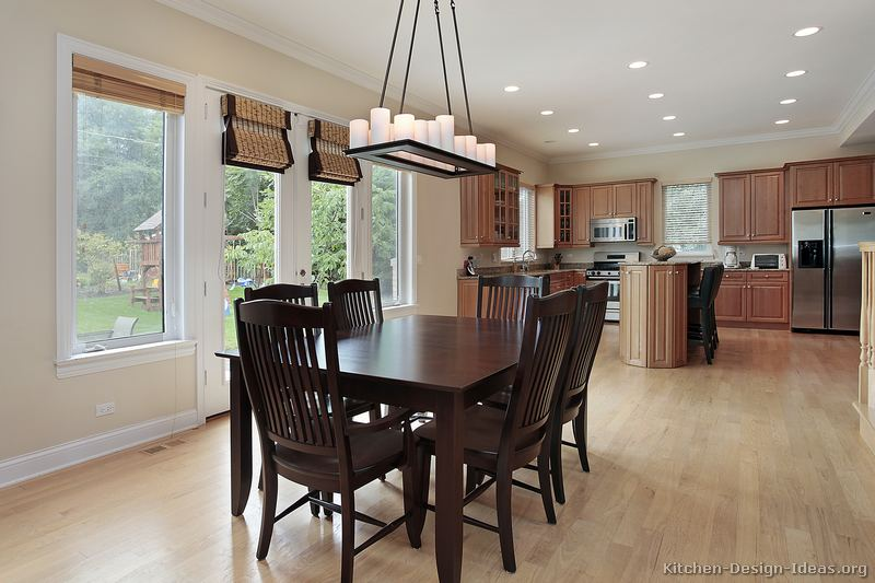 of Kitchens Traditional Light Wood Kitchen
