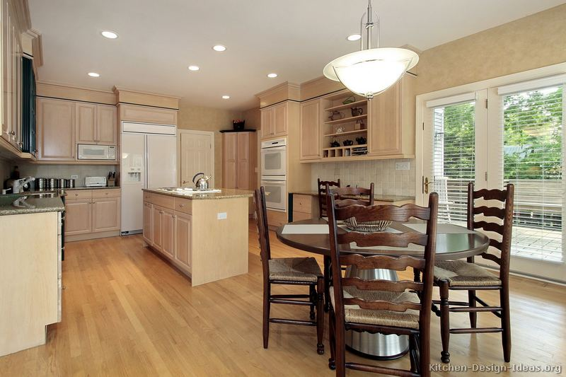 marvelous Bisque Colored Kitchen Appliances #10: Almond Kitchen. Island And Cream W Almond Glazed Kitchen Cabinets .