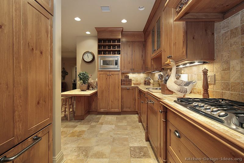 Design In Wood What To Do With Oak Cabinets: Pictures And Inspiration