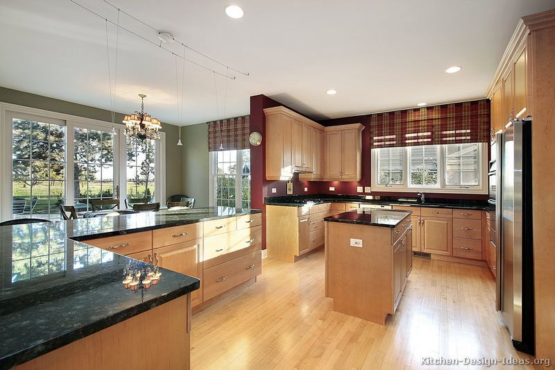 Kitchen Ideas Light Wood Cabinets Pictures Of Kitchens Traditional Light Wood Kitchen Cabinets