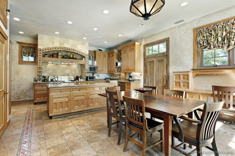 Lovely Tuscan Kitchen Design Ideas