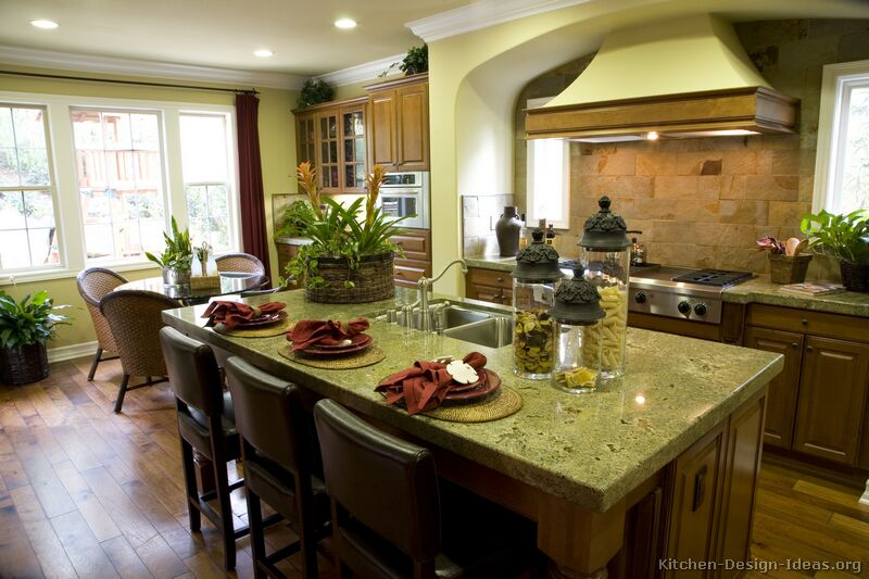 Tuscan Kitchen Design Style Decor Ideas - Green kitchen accessories ideas