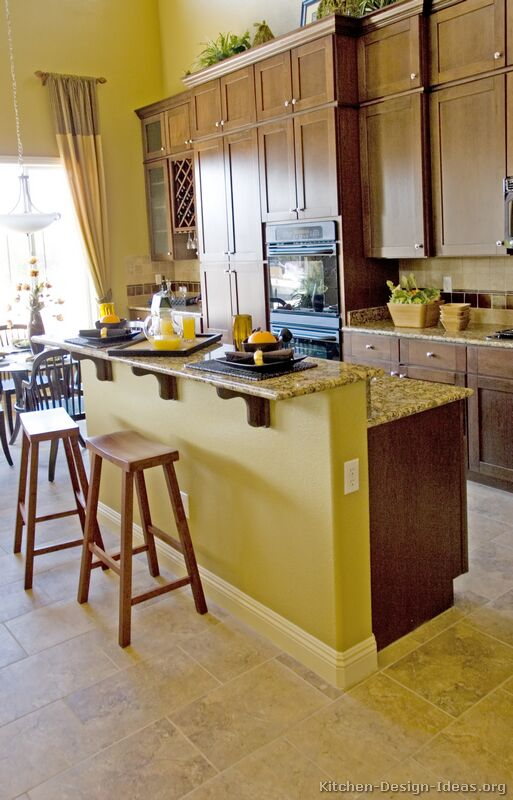 Kitchen Cabinets Brown