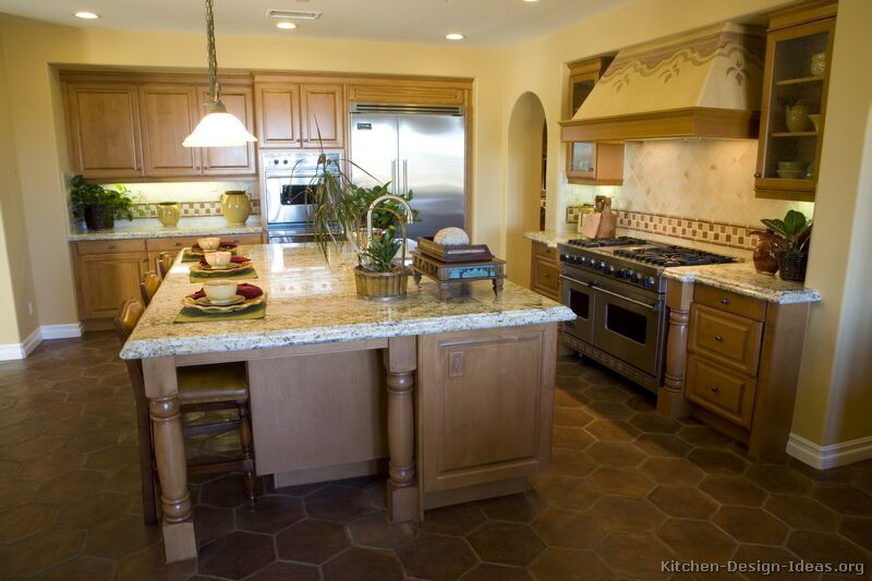 Charmant Tuscan Kitchen Design