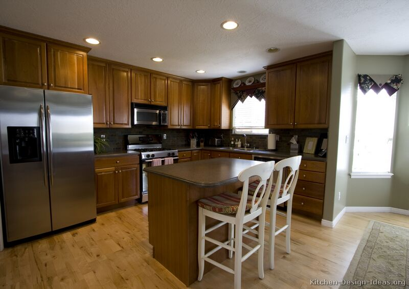 Designs Remodeling: Medium Wood Cabinets