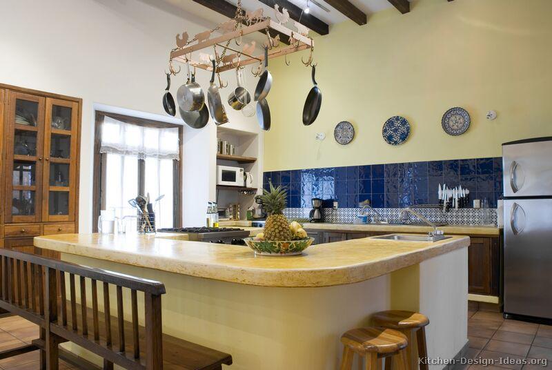 37 Traditional Medium Wood Brown Kitchen