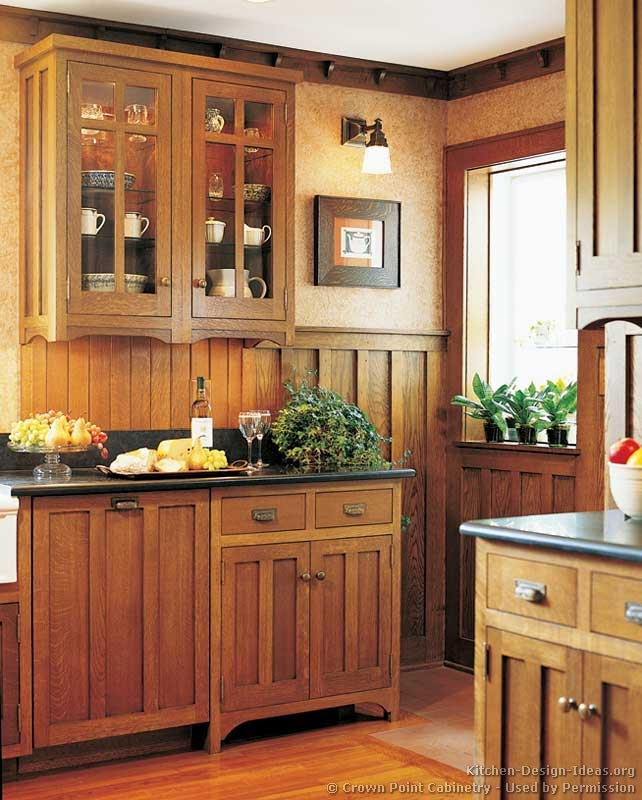 Furniture Kitchen Cabinets: Mission Style Kitchens