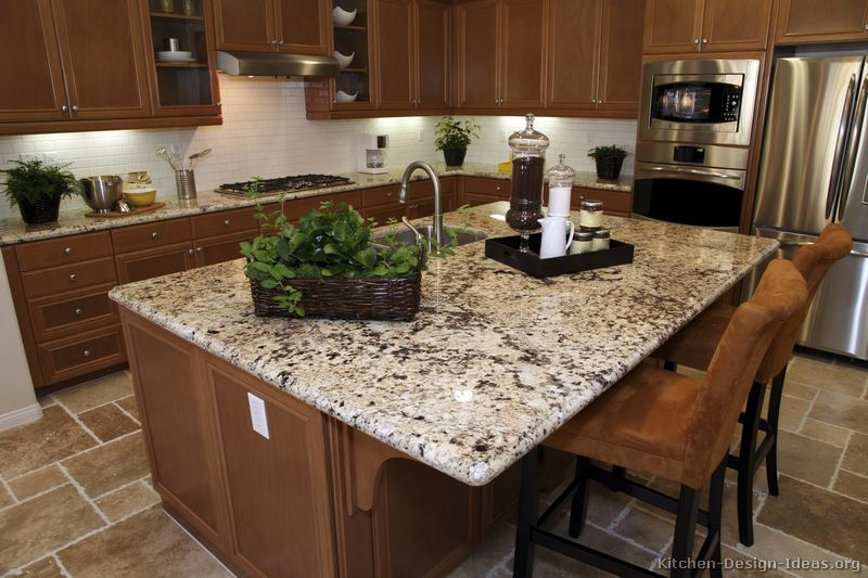 Excellent Kitchen Cabinets with Granite Countertop and Brown 800 x 533 · 81 kB · jpeg