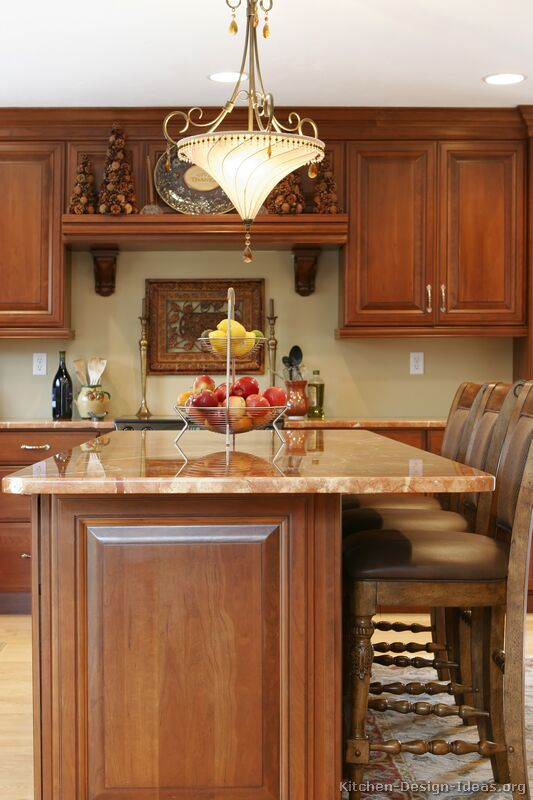 Delightful Kitchen-design-ideas.org Part - 7: 07, Traditional Medium Wood (Cherry) Kitchen