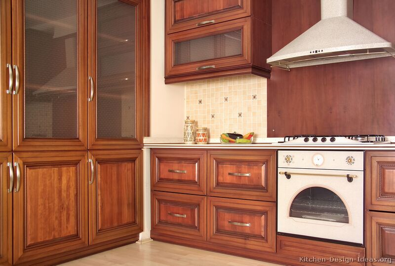 of Kitchens Traditional Medium Wood Cherry