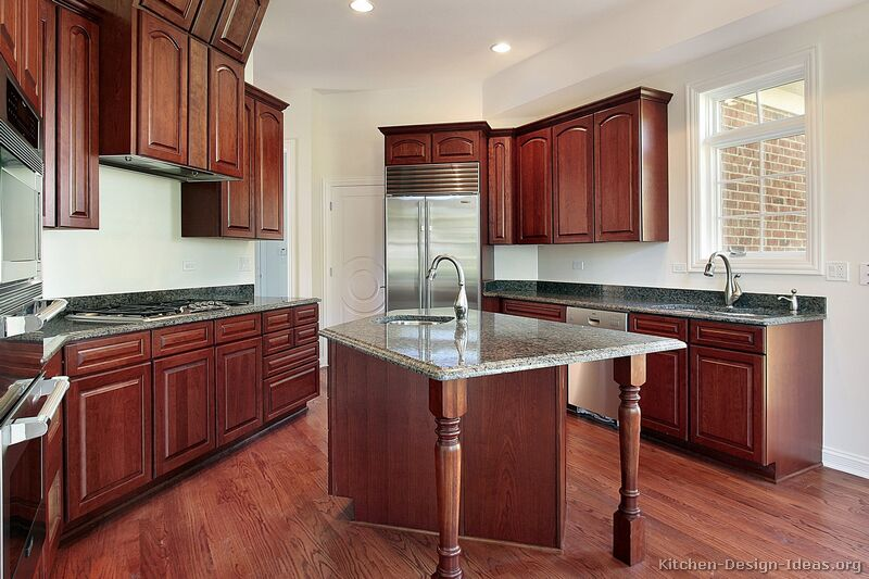 Kitchen Color Ideas With Medium Wood Cabinets