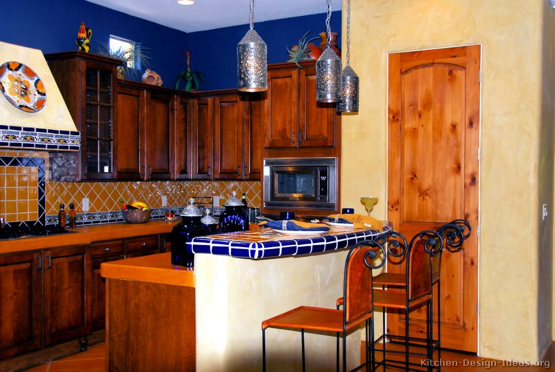 Mexican kitchen design pictures and decorating ideas - Mexican home decor ideas ...