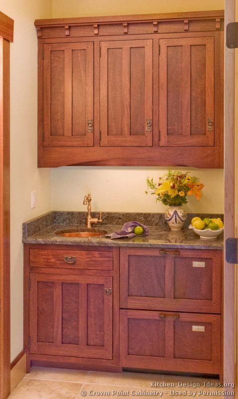 Craftsman Kitchen Craftsman And Mission Style Kitchens On Pinterest