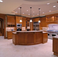 Traditional Medium Wood (Golden Brown) Kitchens