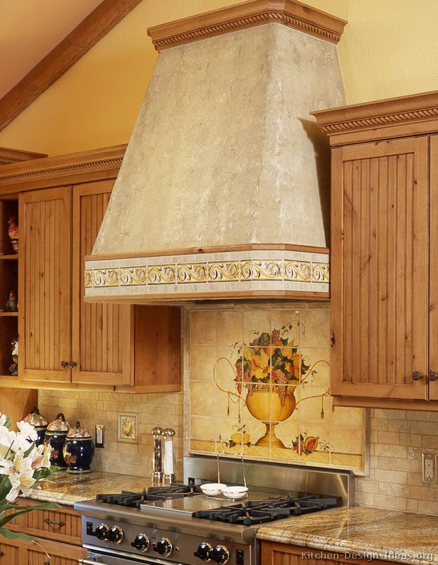 Kitchen backsplash ideas materials designs and pictures for How to design a mural