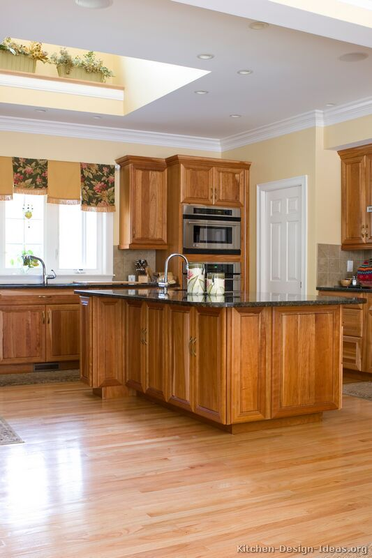 Kitchens With Medium Brown Cabinets