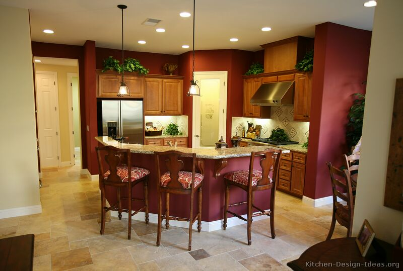 Kitchen Wall Colors With Brown Cabinetskitchen Paint Colors With Brown