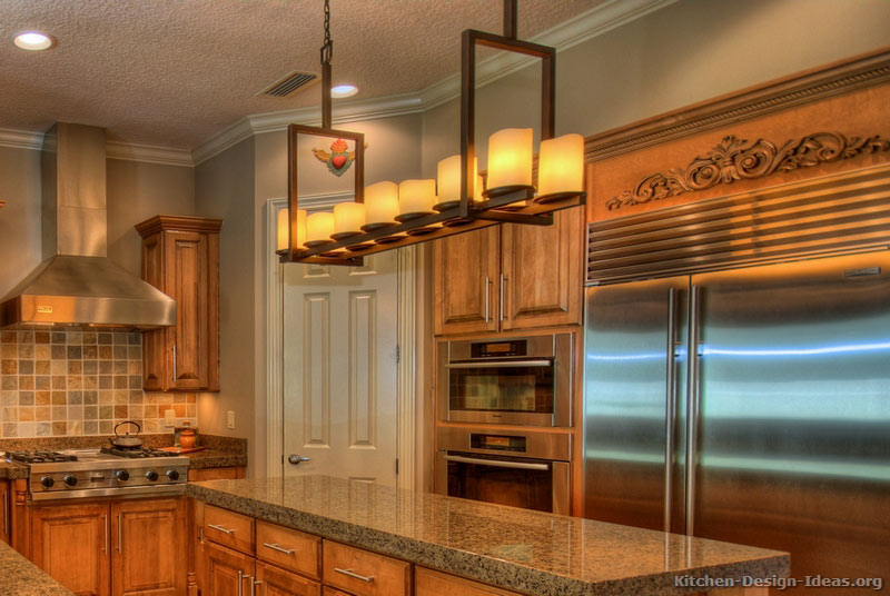 Kitchen Chandelier Design Ideas ~ Rustic kitchen designs pictures and inspiration