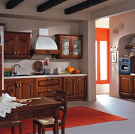 Traditional Italian Kitchen by Latini Cucine