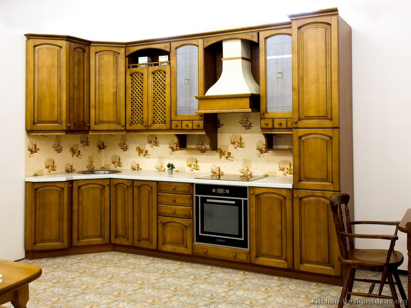 Olive Color Kitchen Cabi s furthermore Medium Colored Wood Kitchen