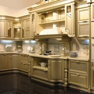 Traditional Gold Kitchens