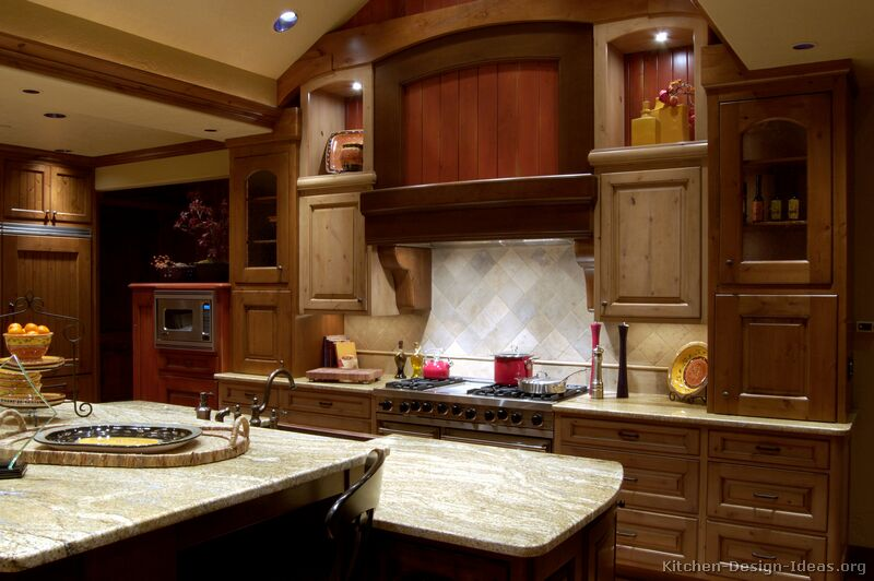 Pictures Of Kitchens Traditional Two Tone Kitchen Cabinets Kitchen 1