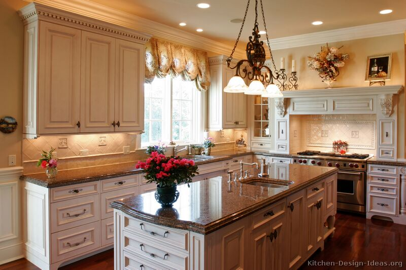 TT02 [+] More Pictures · Traditional Antique White Kitchen