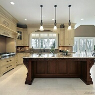 Traditional Two-Tone Kitchens