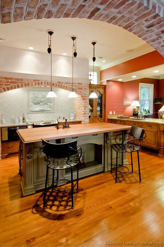 Pics photos tuscan design kitchen ideas style decor your for Tuscan kitchen design