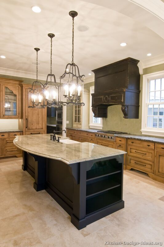 Kitchen Top Up : ... of Kitchens - Traditional - Two-Tone Kitchen Cabinets (Kitchen #18