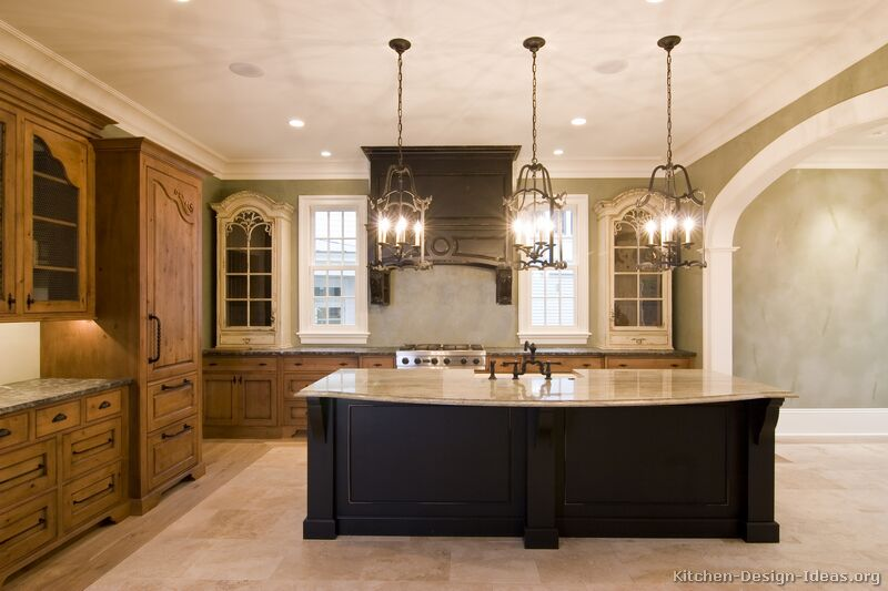 tuscan kitchen design style decor ideas ForTuscan Style Kitchen Lighting