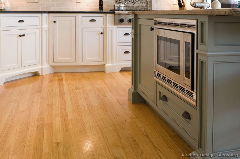 05, Traditional Two Tone Kitchen