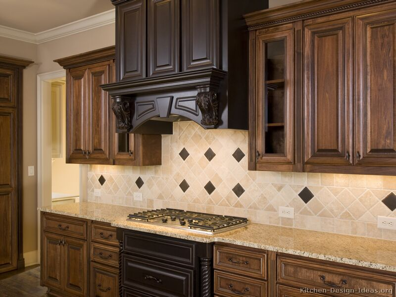 ... of Kitchens - Traditional - Two-Tone Kitchen Cabinets (Kitchen #42