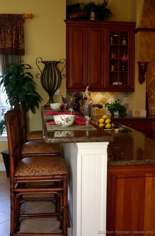 Tuscan kitchen design style decor ideas for Color design for kitchen