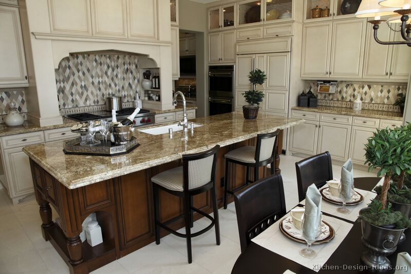 a large gourmet kitchen for cooking entertaining