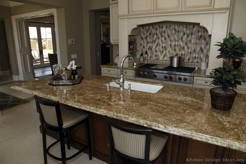 Gourmet Kitchen Island